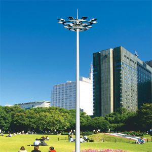 Baode Lighting 30m Project Stadium Lighting Pole High Mast Lighting pictures & photos