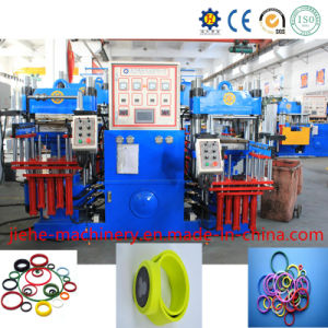 Double Molds Rubber Hydraulic Press Vulcanizer Made in China pictures & photos