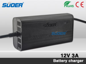 Suoer Low Price 3A 12V Smart Fast Universal Car Battery Charger (SON-1203B) pictures & photos