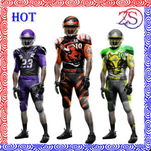 100% Polyester Sublimation Cool Dry American Football Jersey pictures & photos