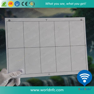 Layout 2 X 5 A4 Size F08 S50 RFID Inlay Sheets pictures & photos