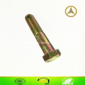 Grade 8.8 Flat Head Hexagon Screw with Hole