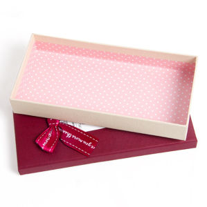 Lady Brief Packaging Box with Tag pictures & photos
