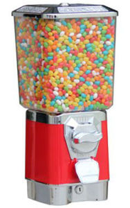 Square Gumball Vending Machine with Cashdrawer (TR618S) pictures & photos