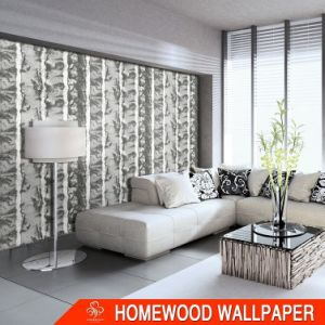 Italy Design Heavy Embossed Vinyl Wall Paper Tj302 pictures & photos