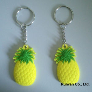 Soft Plastic Keyholder for Fruit Promotional Gifts pictures & photos