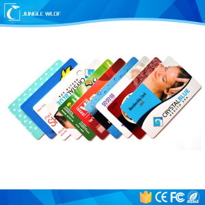 Wholesale Photo Insert Plastic Employee ID Cards pictures & photos