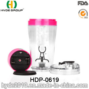 Customized 500ml BPA Free Plastic Electric Shaker Bottle (HDP-0619) pictures & photos