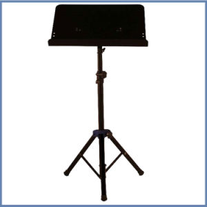 Tripod Base Black and Colorful Sheet Music Stand pictures & photos