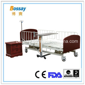 UK Three Functions Electric Nursing Home Bed Care Bed pictures & photos