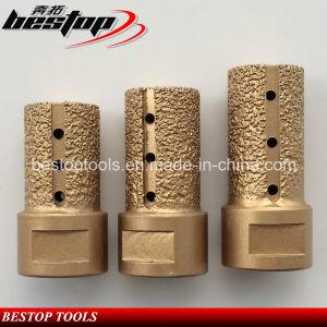 Vacuum Brazed CNC Using Stone Grinding Diamond Finger Bit pictures & photos