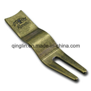 Promotional Antique Bronze Creative Shape Metal Golf Repair Divot Tool (QL-QC-0027) pictures & photos