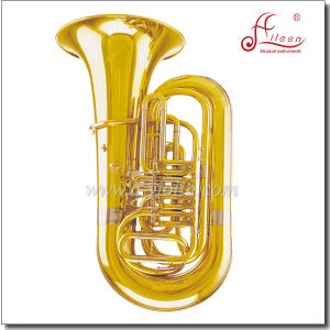 3/4 Bb Key Yellow Brass Piston Jinbao Tuba (TU210G) pictures & photos