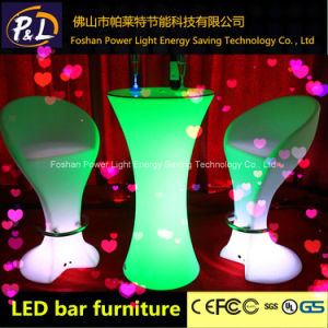 LED Illuminated Furniture Lounge Furniture Outdoor LED Bucket Stool pictures & photos