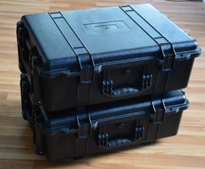 Sc049 Special Plastic Tool Case with Wheels pictures & photos