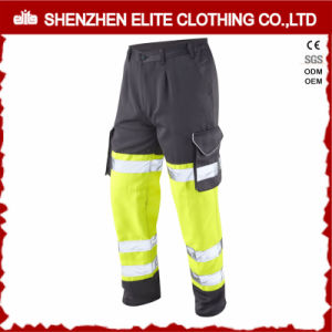 ANSI Class E Men Cotton Twill Safety Reflective Pants pictures & photos