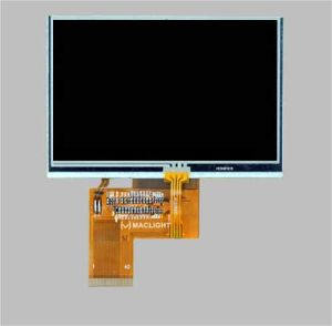 4.3′′ TFT LCD Module Display 480X272 Resolution with Touch Screen pictures & photos