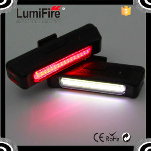 Lumifire S630 Super Bright Bicycle Rechargeable LED USB Bike Light COB Technology Bicycle Tail Light pictures & photos
