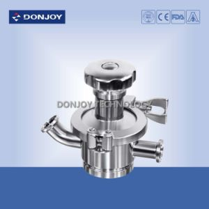 Hygienic Ss 316L Manual Radial Diaphragm Valve Welded pictures & photos