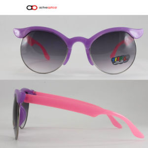 Colorful Kids Sunglasses in Rubber Finished Hot Sales (k1148)