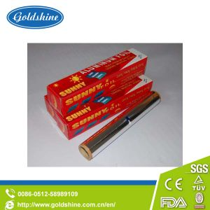Hot Selling Goldshine Aluminium Foil Rolls for Kitchen pictures & photos