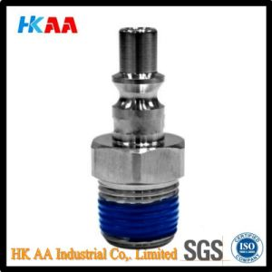 Stainless Steel Quick Coupler Plug for Optical Communication Connector pictures & photos