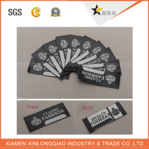Fabric Label Printing Size Logo Custom Clothing Clothes Cloth Garment Woven Label pictures & photos