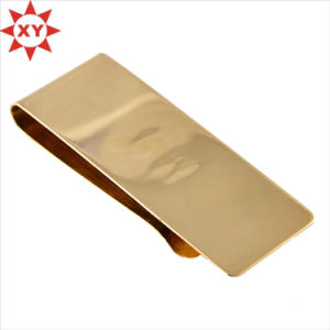 2015 Most Popular Gold Plating Custom Money Clip pictures & photos