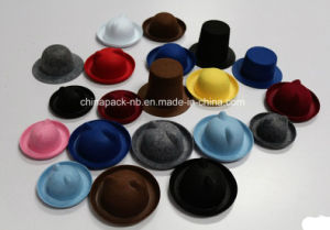 Mini Felt Hats with Ear for Kids on Different Colors pictures & photos