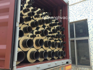 Spiral Pre-Insulated Pipe Pip with Gi Cladding & PU Insulation for HVAC pictures & photos