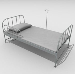 Manual Medical Bed for Stainless Steel (FM-619)