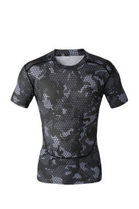 Compression Sport Fitness Exercise Tops Men training Surfing Running (AKJSY-2015031) pictures & photos