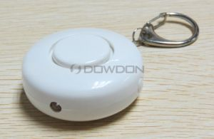 Multi Color Rounded Fashion 130 dB Aloud Personal Alarm with Key Ring LED Button Support OEM pictures & photos