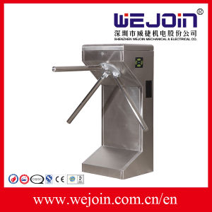 Pedestrian Controlturnstile / Mechanical Entrance and Exit Turnstile pictures & photos
