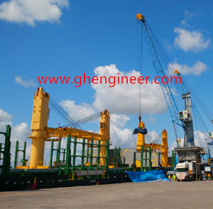 Rubber Tyred Gantry Crane with Grab and Speader pictures & photos