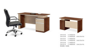 1.4m Melamine Fixed Cabinet Staff Desk