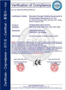 Economic Znc-1500c CNC Plasma Cutting Machine with Ce Certificate pictures & photos