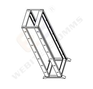 19′′ 4 Post Open Rack with Wheels pictures & photos
