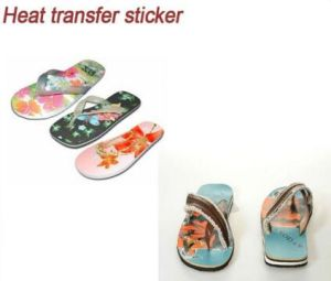 EVA Heat Press Transfers Stickers for Slipper pictures & photos
