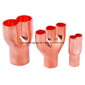 Copper Fittings with Y Shape pictures & photos