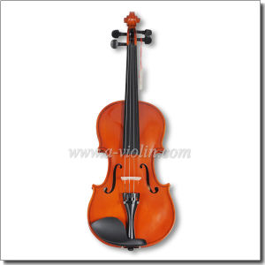 Flamed Back Veneer Laminated Wood Body Student Violin (VG001-HP) pictures & photos