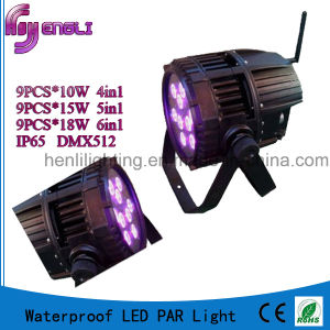 9PCS*10W 4in1/5in1/6in1 LED Waterproof PAR Light (HL-025) pictures & photos