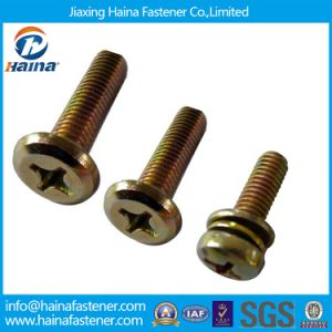 DIN7985 Cross Recessed Pan Head Screws/Phillips Pan Head Combination Screws pictures & photos