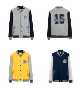 2016 OEM New Design Embroidered for Promotion Baseball Sport Jacket pictures & photos