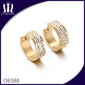 Simple Gold Earring Designs for Women pictures & photos