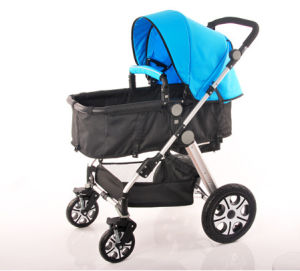 2016 High Quality Alloy Frame New Design 4 in 1 Baby Stroller pictures & photos