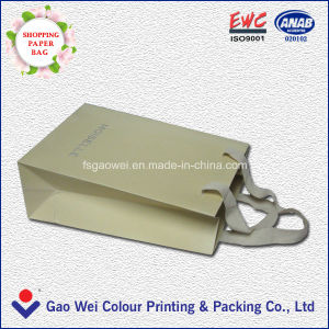 Paper Shopping Bags Wholesale Small Paper Bags Cheap Paper Bag Printing with Handles pictures & photos