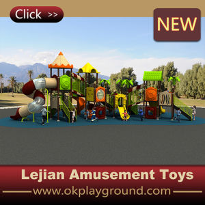 LLDPE Raw Material Children Outdoor Playground (X1510-8) pictures & photos