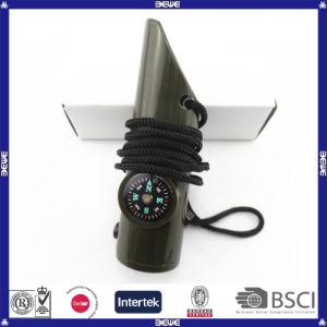 Good Quality Safety 7 in 1 Survival Whistle pictures & photos
