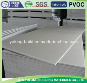 Common Gypsum Plasterboard for Drywall (1200X1830mm/1200X3600mm/1200X2500mm) pictures & photos